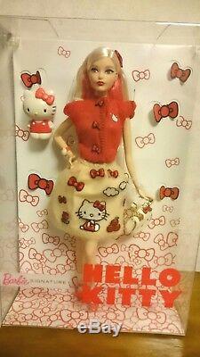 Barbie × Hello Kitty Poupée Limitée À 2018 Avec Figurine Kitty Sanrio