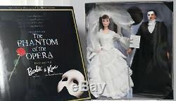 Barbie & Ken Le Fantôme De L'opéra Edition Limitée 1998 Nib