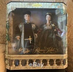 Barbie & Ken Romeo & Juliet Collector Édition Mattel Guter Zustand