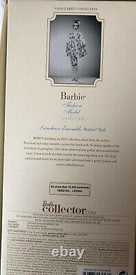 Barbie Luncheon Ensemble Silkstone, Mbmc, Édition Limitée, 2013, Étiquette D'or