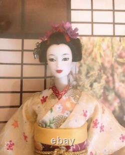 Barbie Maiko Gold Label Poupée Barbie Japonaise Mattel Quantité Limitée Kimono
