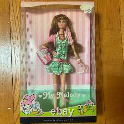 Barbie My Melody Collaboration Limitée À 4000 Du Japon Nouveau Kawaii