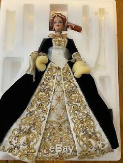 Barbie Porcelaine Grâce Fabergé Imperial 2001 Edition Limitée Nouveau Dans La Boîte