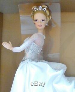 Barbie Reem Acra Mariée Limitée 999 L3549 Platinum Étiquette 2007 Blonde Nrfb