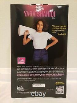Barbie Signature Collectible Yara Shahidi Sheri Doll Vote T-shirt Limited Ed
