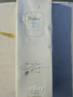 Barbie Signé Robert Best Lingerie Poupée Silkstone Blonde Blanche Édition Limitée