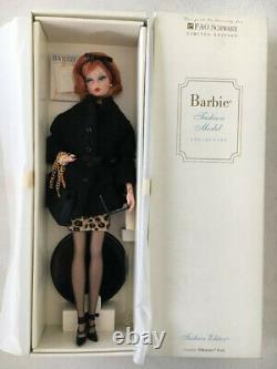 Barbie Silkstone Fao Schwarz Limited Edition Rédactrice De Mode Mint Nrfb