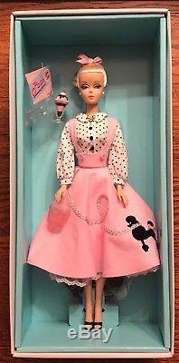 Barbie Soda Shop Édition Limitée De 4 400 Gold Label 2015 # Dgx89 Nrfb