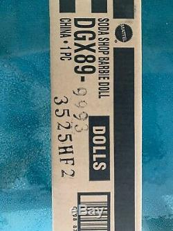 Barbie Soda Shop Limited Edition 4.400 Gold Label 2015 # Dgx89 Nrfb De Shipperbox