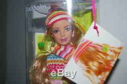 Barbie Stockholm, United Colours Of Benetton, 2005, Nrfb, Très Rare Et Limitée