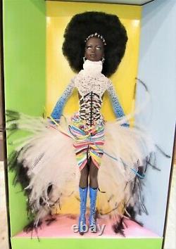 Barbie Tresures D'afrique Mbili Doll 2002 Nib Edition Limitée Par Byron Lars