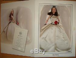 Barbie Vera Wang Édition Limitée 1998 1ère Poupée Mariée Xb800
