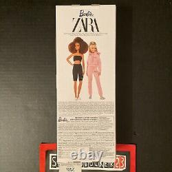 Barbie X Zara Blonde Doll Nrfb Platinum Label Edition Limitée X/300 In Hand