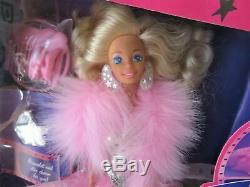 Barbie1988superstarlimited Editionpeach / Super Star / Rêve Glowvintage