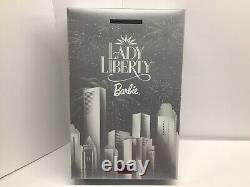 Bob Mackie 2000 Lady Liberty Barbie-nrfb! Édition Limitée Nouvelle