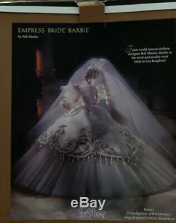 Bob Mackie Empress Bride 1992 Poupée Barbie Edition Limitée Dans La Boîte Originale
