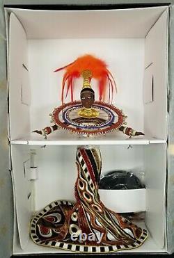 Bob Mackie Fantasy Goddess Of Africa 1999 Barbie Doll. Nrfb. Édition Limitée