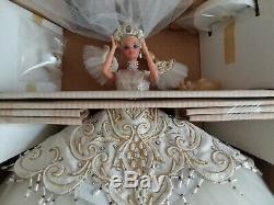 Bob Mackie Poupée Barbie Édition Limitée Impress Bride 1992 Boîte Et Affiche Nrfb