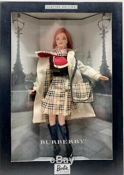 Burberry Barbie Doll (limited Edition) (nouveau)