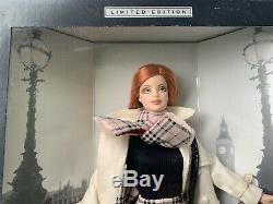 Burberry London Designer Barbie Limited Edition Nib