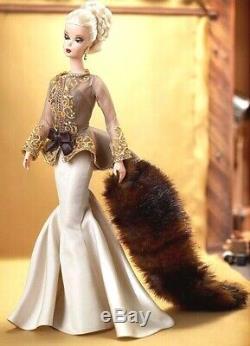 Capucine Poupée Barbie Silkstone Nrfb Robert Best Limited Soirée Expéditeur Original