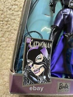 Catwoman Barbie Marvel Comics 2004 Mattel Edition Limitée