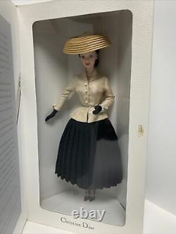 Christian Dior Barbie #16013 Mattel Limited Edition With Shipper New Nrfb 1996