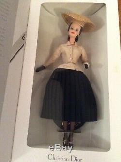Christian Dior Paris Barbie Collection 1996 Mattel Limited Edition Poupée Nrfb