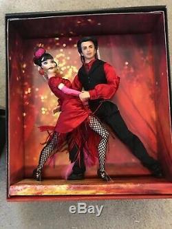 Coffret-cadeau De Poupées Barbie Ken, Édition 2002, Exclusif Fao Schwarz Tango Nrfb