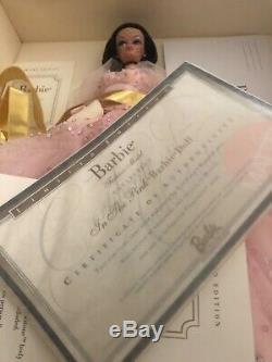 Dans Le Rose Barbie Silkstone Nrfb # 27683 Gold Label Doll Edition Limitée