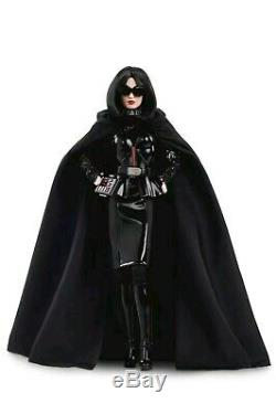 Darth Vader Star Wars X Barbie Dollgold Étiquette Mattel Limited Edition In-hand