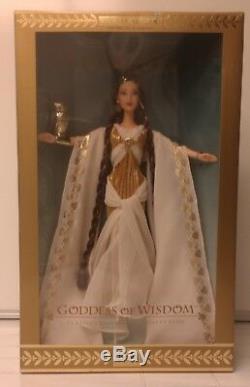 Déesse De La Sagesse Barbie - Fille De Zeus - Collection Classique Edition Limitée