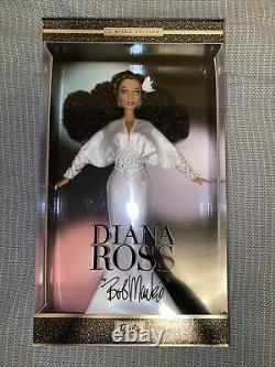 Diana Ross Barbie Doll Par Bob Mackie 2003 Limited Edition Mattel Nrfb