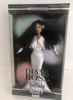 Diana Ross Barbie Par Bob Mackie 2003 Edition Limitée Nrfb