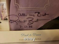 Dusk To Dawn Silkstone Barbie Doll Giftset 2000 Limited Ed Mattel 29654 Signé