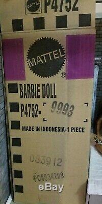 Éclaboussure D'argent Barbie Platinum Label (limited 161 De 999) Barbie Fan Club 2009