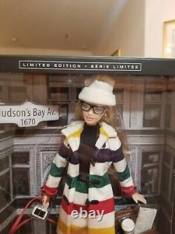 Édition Limitée 2016 Silver Label Hudson's Bay Barbie Doll Onf