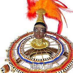 Edition Limitée Bob Mackie Fantasy Déesse D'afrique Barbie Doll Nrfb