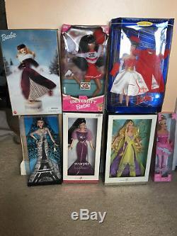 Édition Limitée Collection Barbie Doll (7 Barbies Au Total)