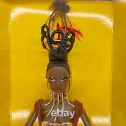 Édition Limitée Trésors De L'afrique By Byron Lars Tano Barbie Doll Nrfb