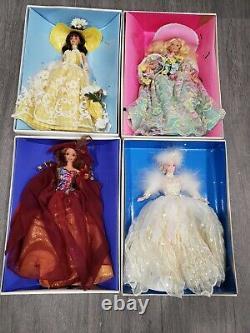 Enchanted Seasons Collection Barbie Dolls Edition Limitée Collection Complète
