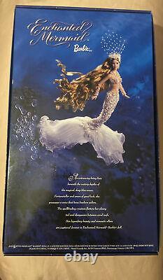 Enchanted Sirmaid Barbie Doll Limited Edition 2001 Coa Mint