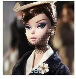 Ensemble Canotier Barbie Silkstone Bfce Dans Expéditeur Expéditeur Box- Limitée