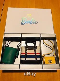 Ensemble De Sac À Main Miniature Pour Entraîneur Barbie, Édition Limitée, Complet Avec Boîte