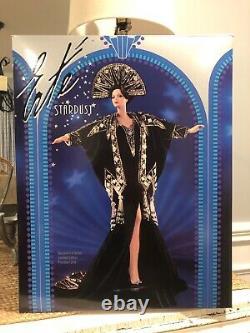 Erte Stardust Barbie Porcelain Limited Edition 2ème De La Série W Box & Coa N° 2679
