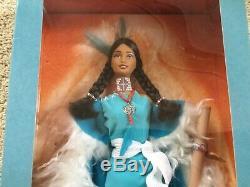Esprit De La Terre Et L'esprit De L'eau Limited Edition Barbie Dolls Nib