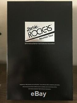 Et Barbie Les Rockers 2010 Convention Nationale Doll Nrfb Limited Edition