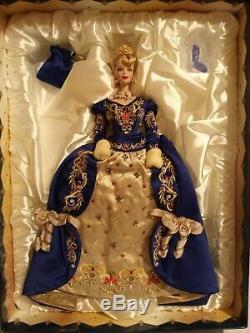 Fabergé Imperial Elegance 1997 Poupée Barbie Limited Edition Exclusive Coa Rare