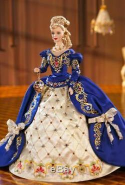 Faberge Imperial Elegance Porcelaine Barbie Edition Limitée Nrfb Dans Shipper Mint +