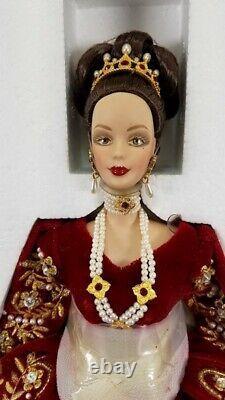 Faberge Imperial Splendor 2000 Porcelaine Barbie -nib-limited Edition